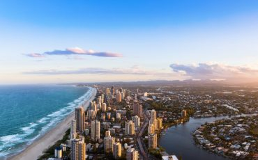 gold coast stock image