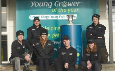Kurow orchardist takes home Central Otago Young Grower title