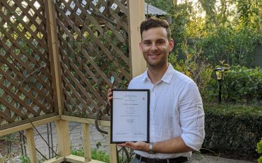 Adam Faircloth – winner in timber research