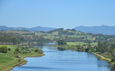 river nsw stock image