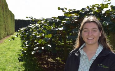 Horticulture student's drive to push NZ's high-quality produce around the globe is rewarded